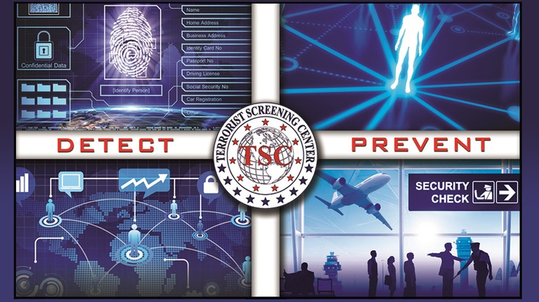 Terrorist Screening Center images; Detect - Prevent