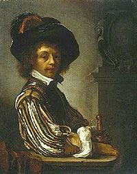 Van Mieris, A Cavalier