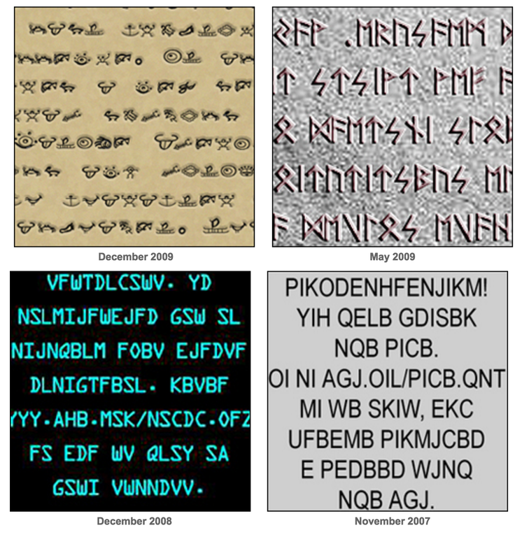 Various Ciphers