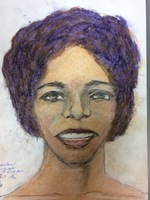 Recent drawing by serial killer Samuel Little based on memories of his murder victims. Unmatched confession; black female between 25-28 years old; killed between 1976 and 1979 or in 1993 in Houston, Texas.