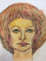Recent drawing by serial killer Samuel Little based on memories of his murder victims. Confession matched to a Jane Doe; white female between 33-44 years old; killed in 1982 in New Orleans, Louisiana.