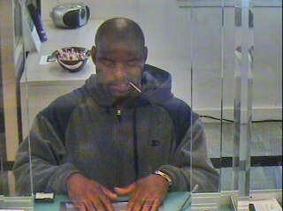 Dominic Walker, Bank Robber, Baltimore
