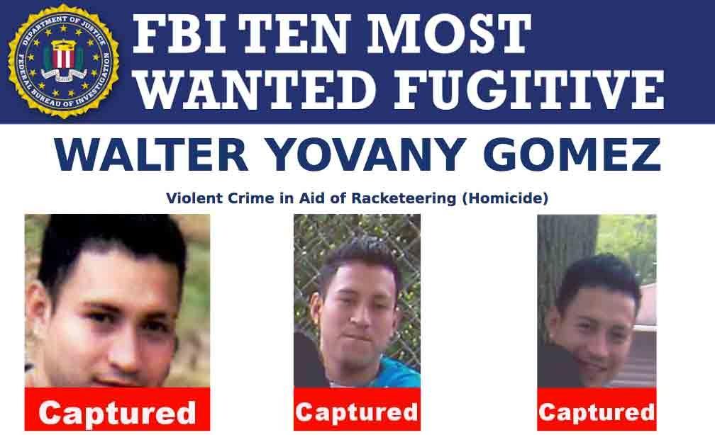 New Top Ten Fugitive