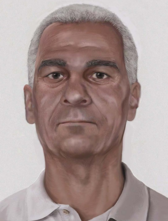 Age-progressed image of  suspect in Pan Am Flight 73 hijacking in Pakistan in 1986.