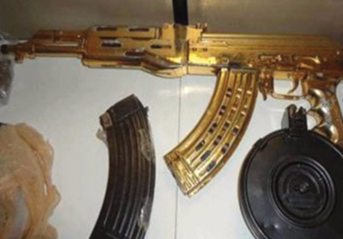 Law enforcement officials in several regions nationwide report gang members in their jurisdiction are armed with military-style weapons.