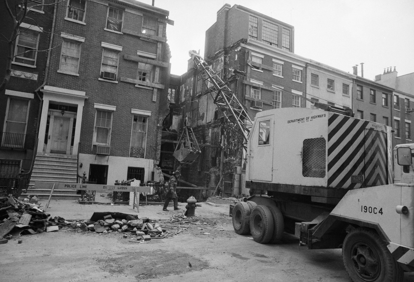 Three Weather Underground members were killed when a bomb they had built exploded in