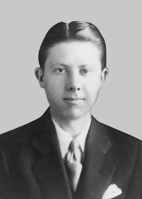 Slain Special Agent William R. Ramsey, mortally wounded in Illinois on May 3, 1938 while attempting to arrest alleged robbers of a Lapel, Indiana bank.