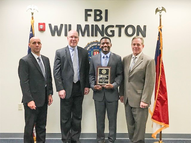 FBI Wilmington Task Force Officer of the Year