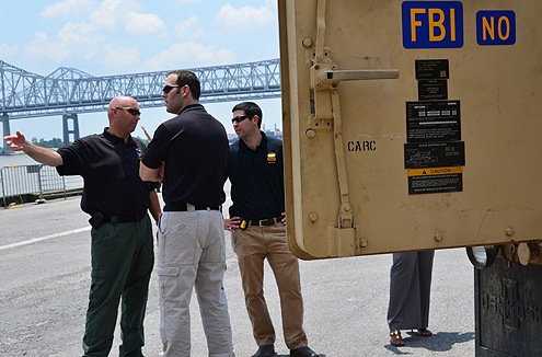 FBI Agents at WMD Training in New Orleans