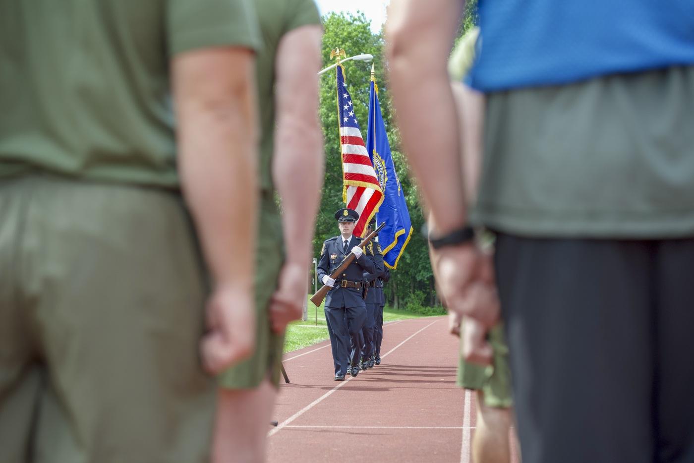 Wounded Warrior Regiment Event: FBI Color Guard