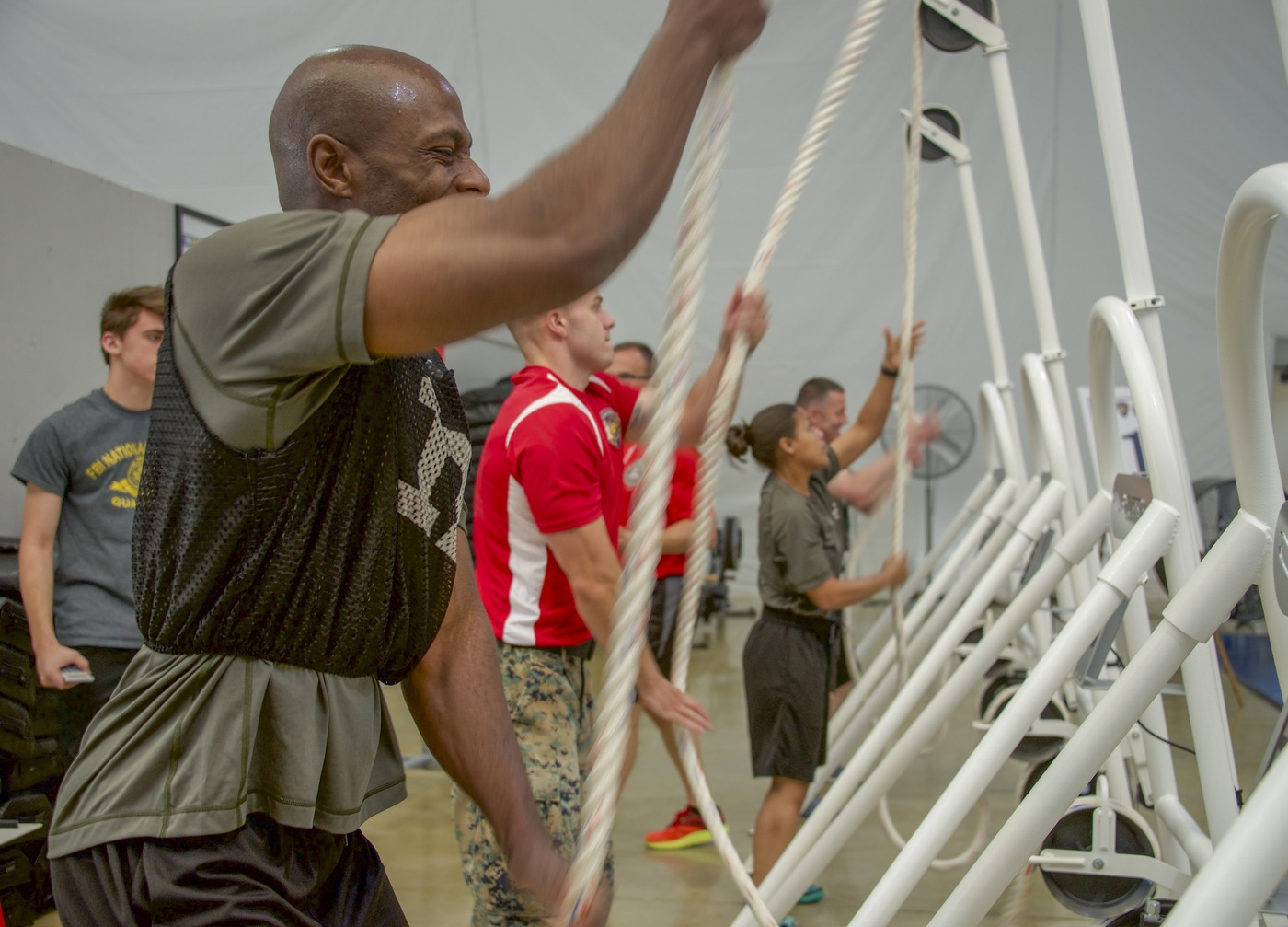 Wounded Warrior Regiment Event: Ropes