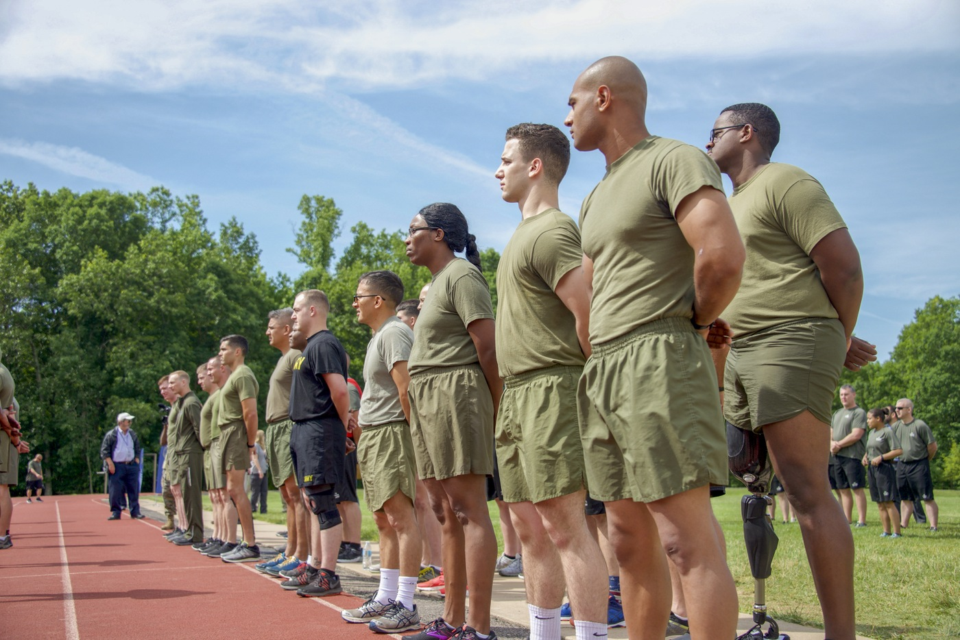 Wounded Warrior Regiment Event: Track Lineup