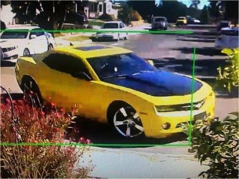 Yellow Camaro 1