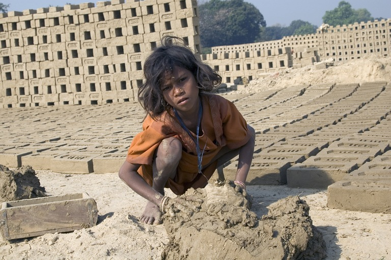 Young Victim of Labor Trafficking in India (State Department Photo)