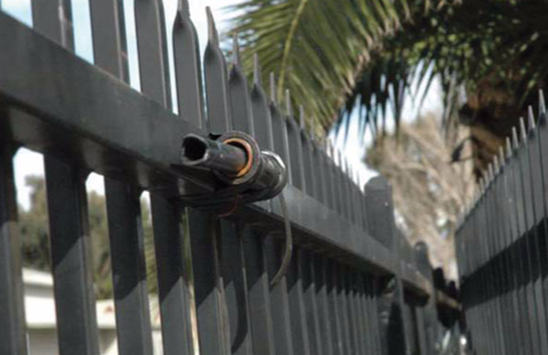 In February 2010, a Riverside County gang task force officer in California was nearly killed when suspected members of a White Supremacist gang rigged a zip gun on a gang task force security fence to discharge if anyone entered their property