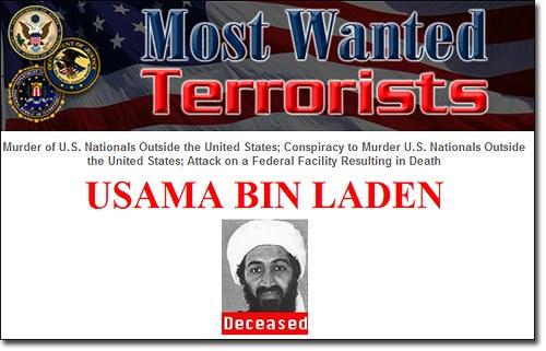 Bin Laden Killed — FBI