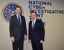 British Prime Minister Cameron and Director Comey Talk Cyber