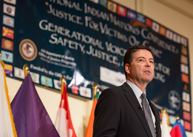 Director Comey in Indian Country