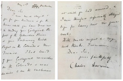 FBI Returns Darwin Letter to Smithsonian Archives