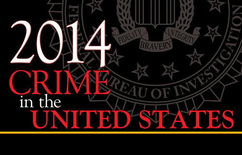 Latest Crime Stats Released FBI - Us crime rate map usa