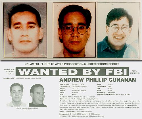 Serial Killers, Part 6: Andrew Cunanan — FBI