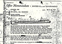 UFOs and the Guy Hottel Memo