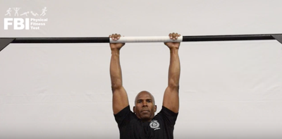 FBI Physical Fitness Test App a Pull-up Demo