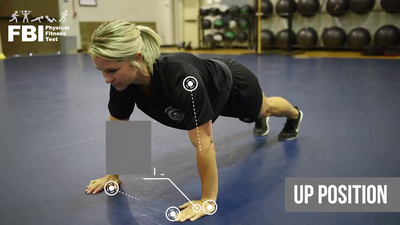 FBI Physical Fitness Test App a Push-up Demo