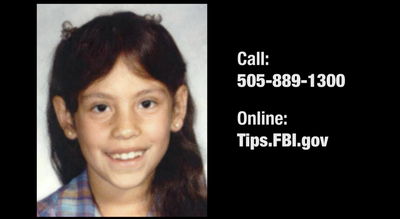 Seeking Information in New Mexico Missing Child Case