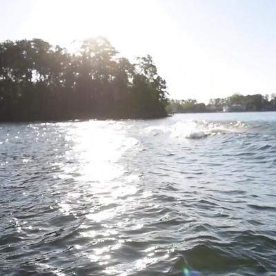 Post-Blast Training Boat Wake Loop