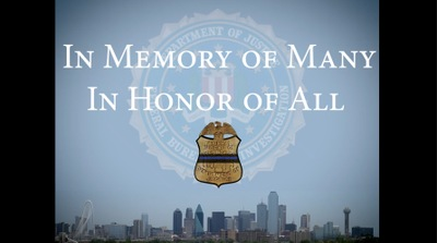 FBI Dallas Honors Fallen Agents in National Police Week Message