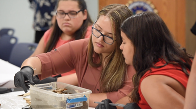 Native American Students Learn About FBI STEM Careers
