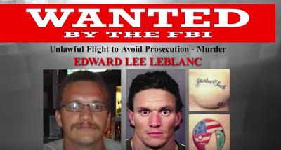 Wanted by the FBI: Edward Lee LeBlanc