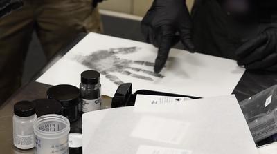 Evidence Response Training: Fingerprinting
