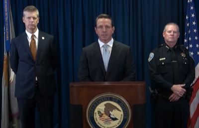 FBI San Francisco Announces Arrest of Alleged Murder Suspect