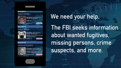 FBI Wanted App Promo Video