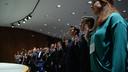 FBI Swears In Honors Interns