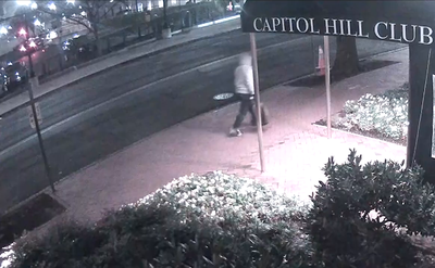January 5 Pipe Bomb Investigation: Footage of Suspect