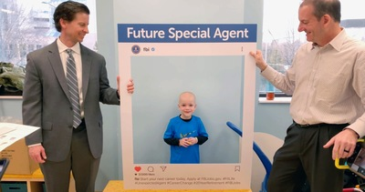 FBI Visits Children's Hospital in Knoxville