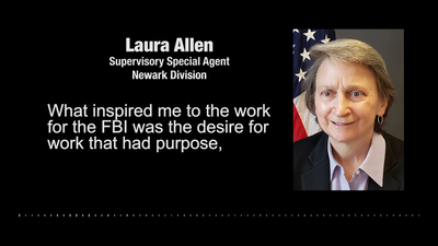 Women's History Month: FBI Newark Special Agent Laura Allen
