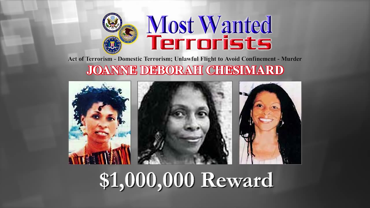 Joanne Chesimard Added to Most Wanted Terrorists List — FBI