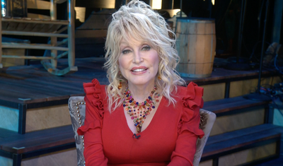 Dolly Parton Thanks FBI and Director's Community Leadership Award Recipients