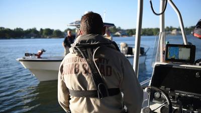 Underwater Post-Blast: Boats Passing