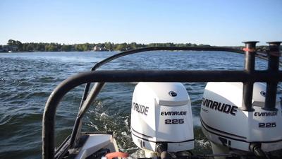 Underwater Post-Blast: Boat Engines and Wake