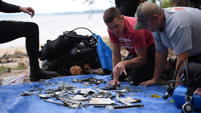 Underwater Post-Blast: Piecing the Evidence Together