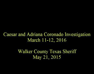 Adriana Coronado Investigation Surveillance Footage