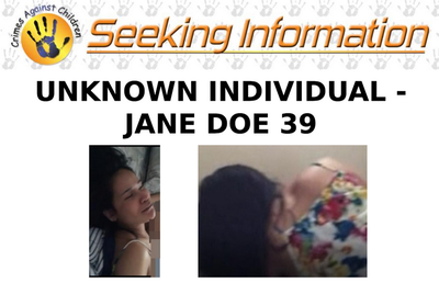 Wanted by the FBI: Endangered Child Alert Program Seeks Information on Jane Doe 39