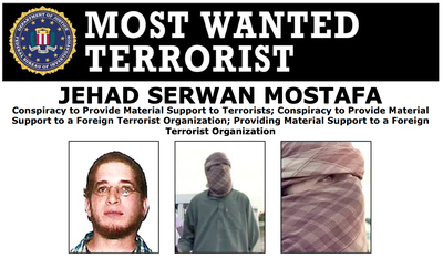 Wanted by the FBI: Jehad Serwan Mostafa