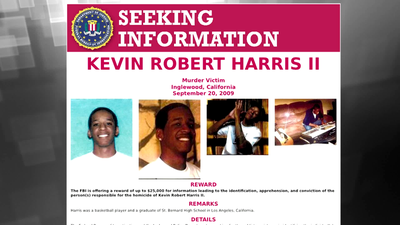 Wanted by the FBI: Reward Available in Kevin Robert Harris, II Murder Investigation