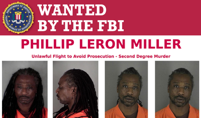 Wanted by the FBI: Phillip Leron Miller
